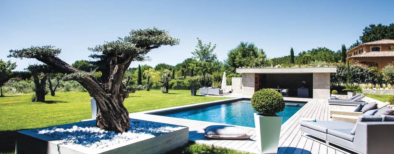 Les 21 plus belles terrasses avec piscine de France !