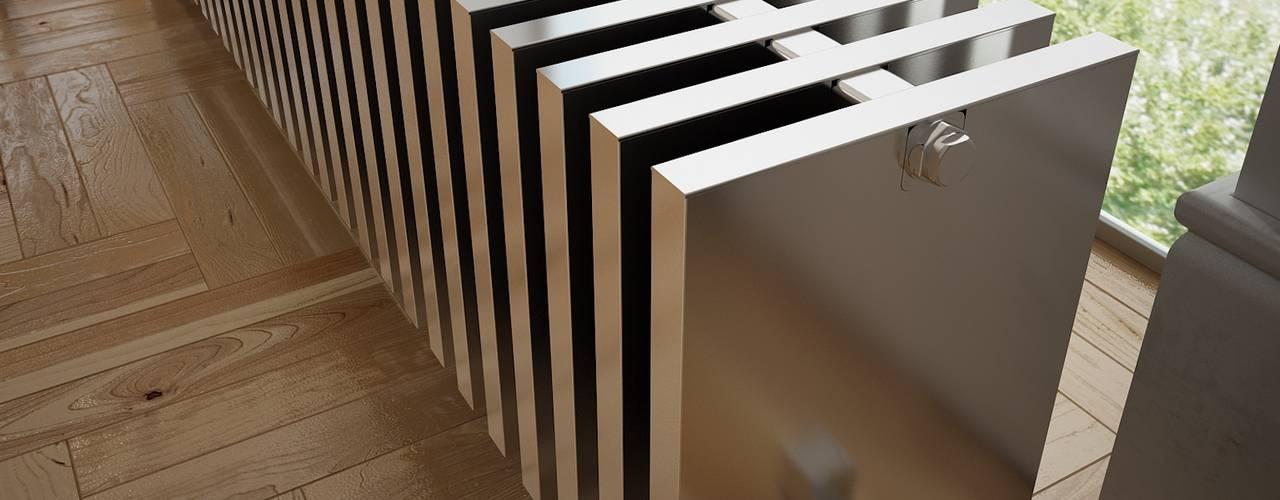 Moderner Rippenheizkörper Babe: moderne Wohnzimmer von RF Design GmbH