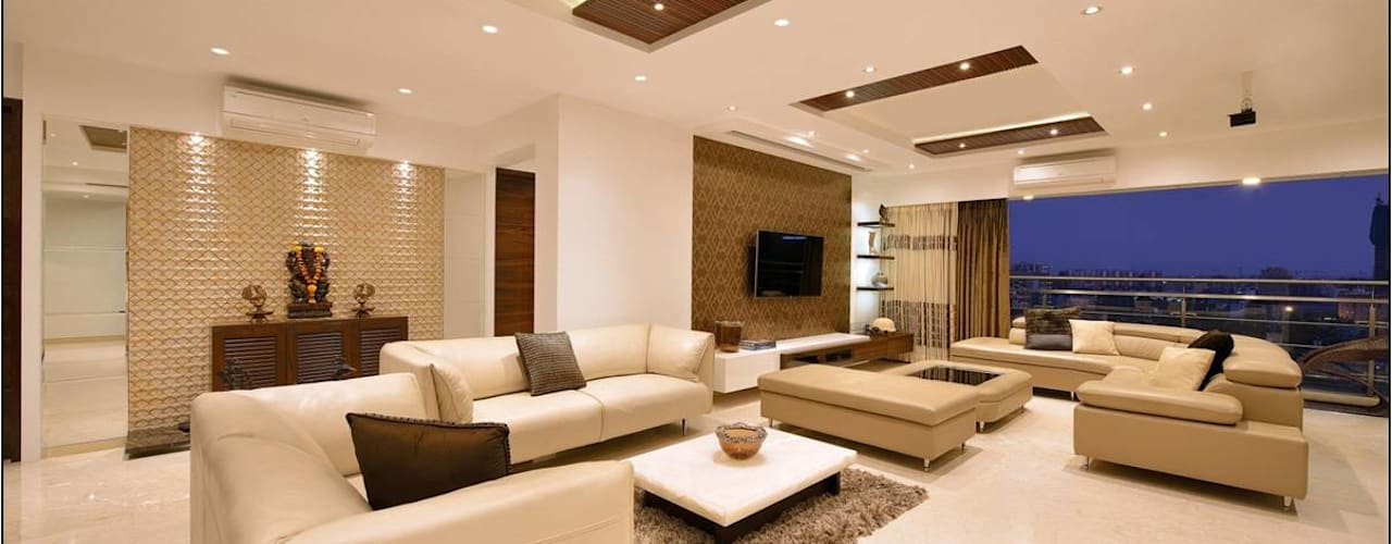 minimalistic Living room by homify