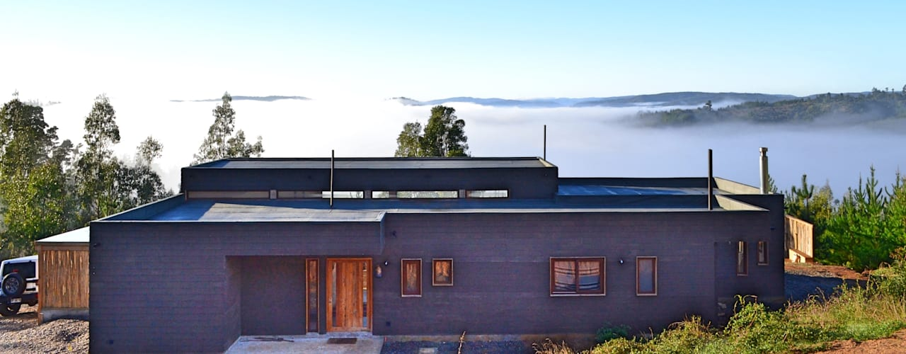 Casas de estilo  por AtelierStudio, Moderno