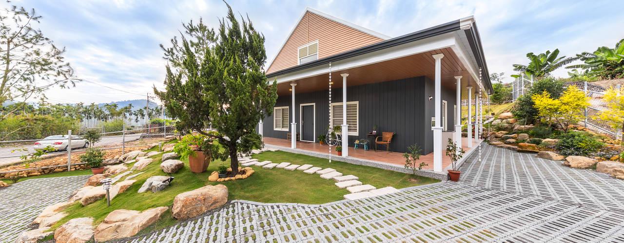 Casas de estilo  por 七澄建築有限公司