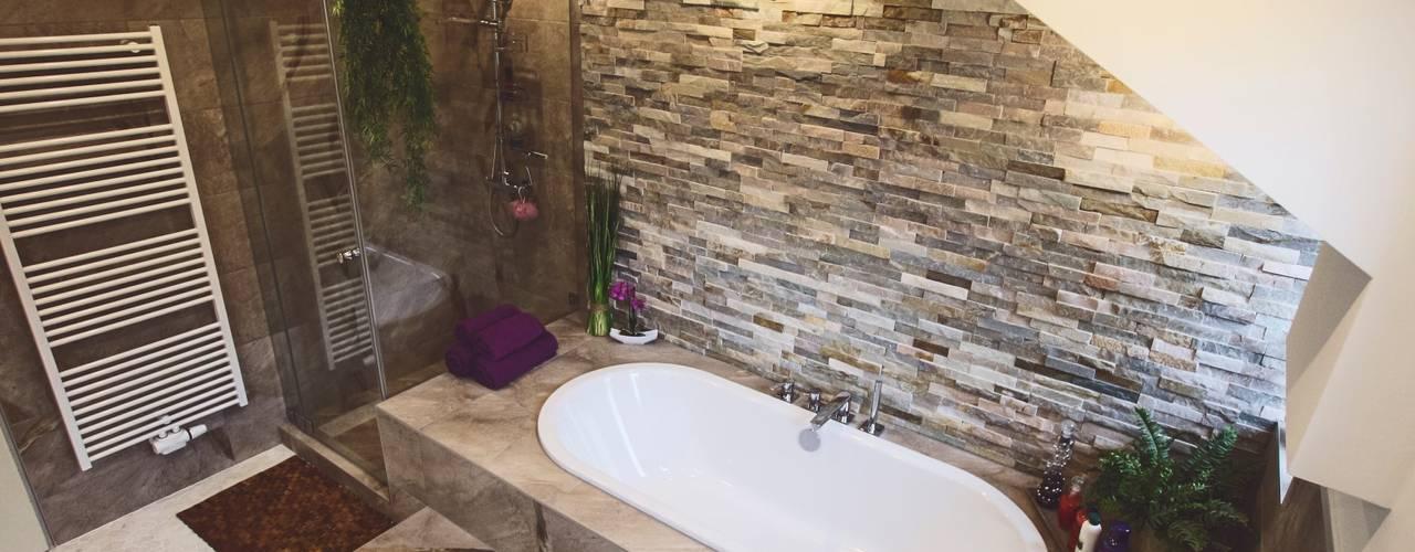 Ein Bad mit Individuellem Design München Waldperlach Moderne Badezimmer von Cella GmbH Modern
