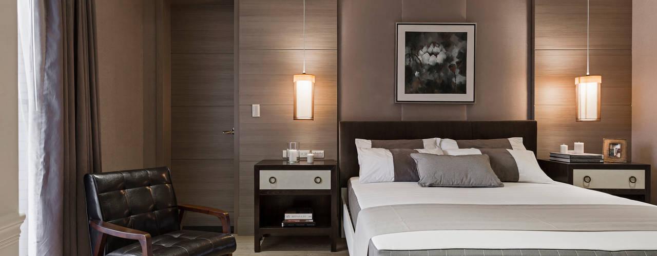 客房:  臥室 by 漢品室內設計