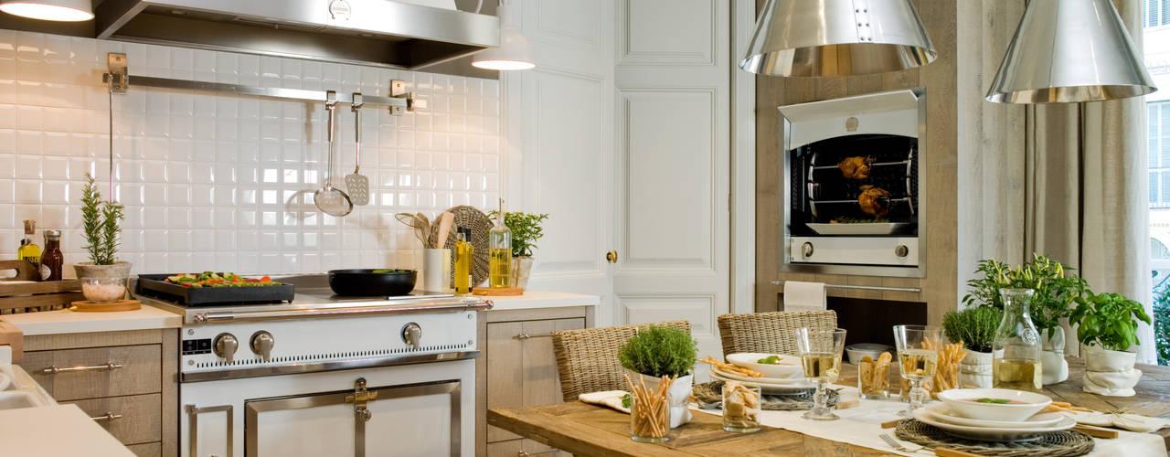 DEULONDER arquitectura domestica Cuisine rustique Bois Marron