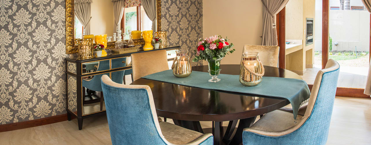 Townhouse, JHB Classic style dining room by Carne Interiors Classic