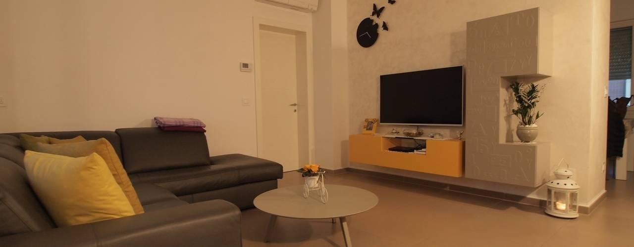Projekty,  Salon zaprojektowane przez duedì - studio di progettazione