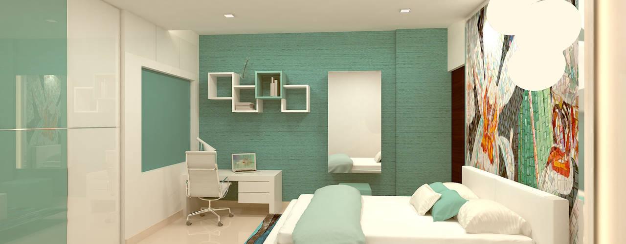 Moderne Schlafzimmer von Kredenza Interior Studios Modern