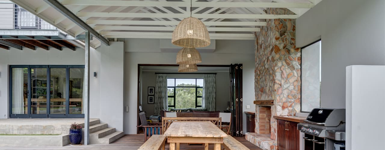 House Serfontein by Muse Architects Rustic