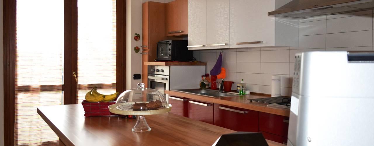 Prima e Dopo: una Cucina Rinnovata Cambiando Solo la Disposizione ...