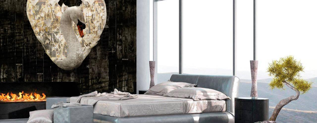 Modern Behang Slaapkamer.Creeer Een Droomslaapkamer Met Uniek Behang Homify