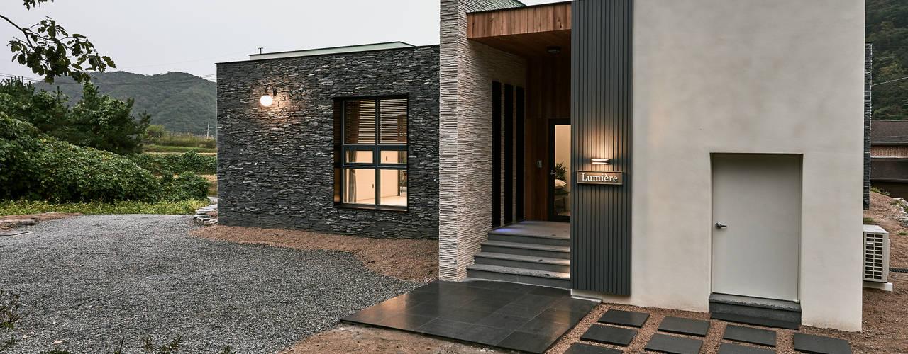Casas modernas de Design Anche Moderno