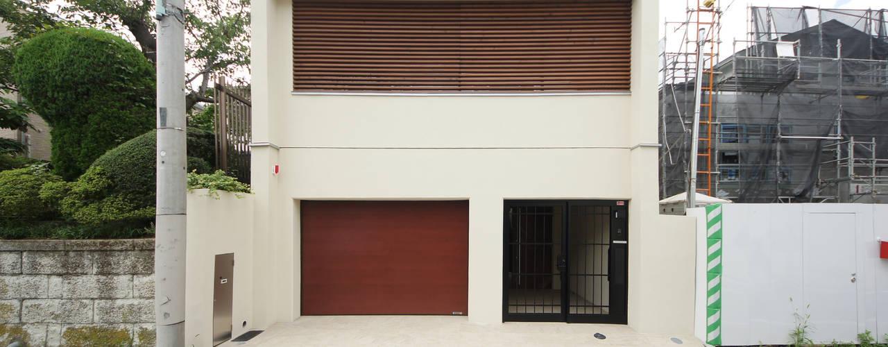 Projekty, nowoczesne Domy zaprojektowane przez TERAJIMA ARCHITECTS