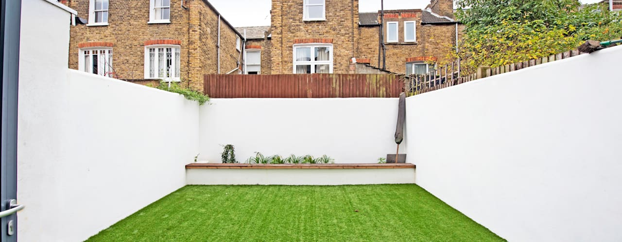 Elspeth Road - Battersea SW London Modern garden by dwell design Modern