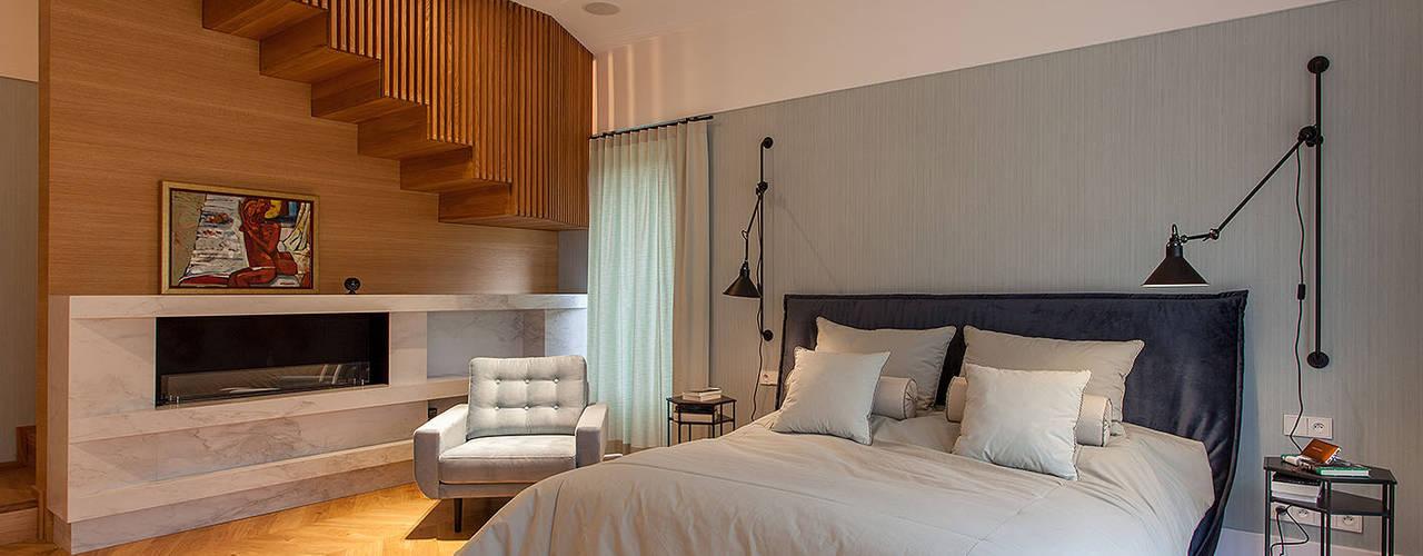 Eclectische slaapkamers van oyster Eclectisch
