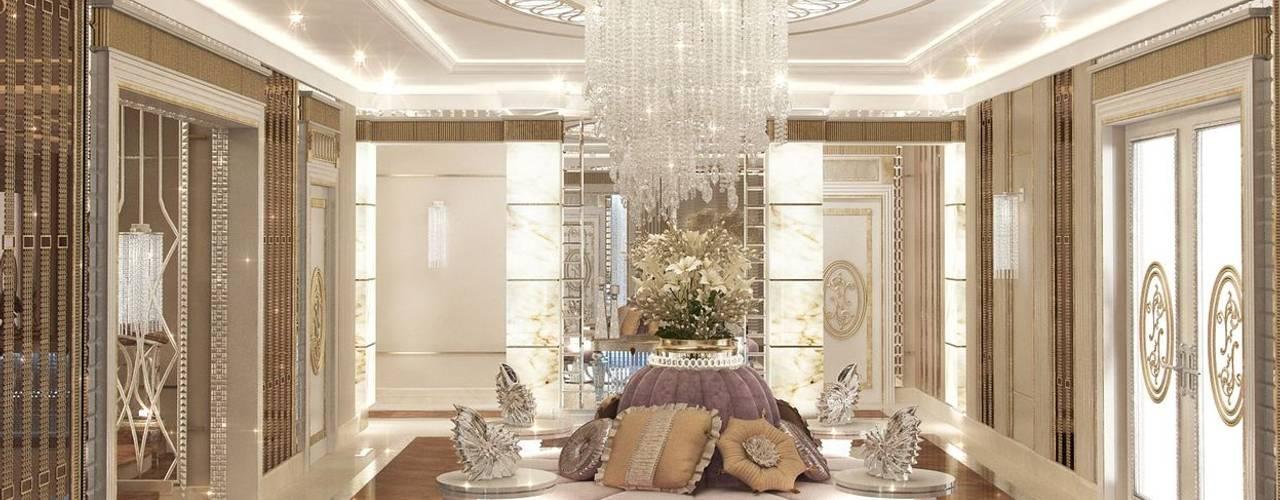 Projekty,  Korytarz, przedpokój zaprojektowane przez Luxury Antonovich Design