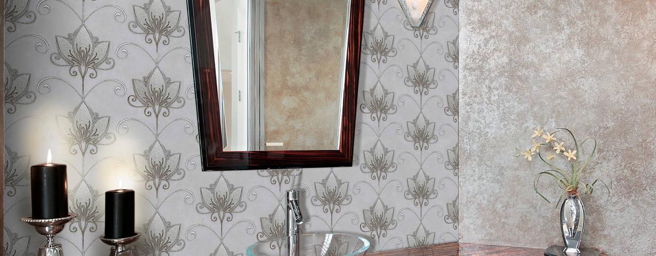Elalux Tile クラシックスタイルの お風呂・バスルーム 大理石 灰色