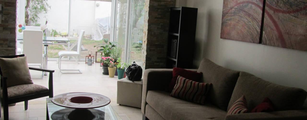 Livings de estilo  por Arquitecta MORIELLO
