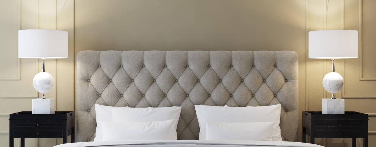 Klassische Schlafzimmer von MIKOŁAJSKAstudio Klassisch