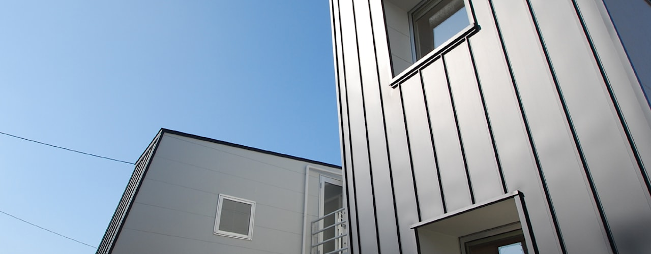 wall × wall モダンな 家 の Ju Design 建築設計室 モダン