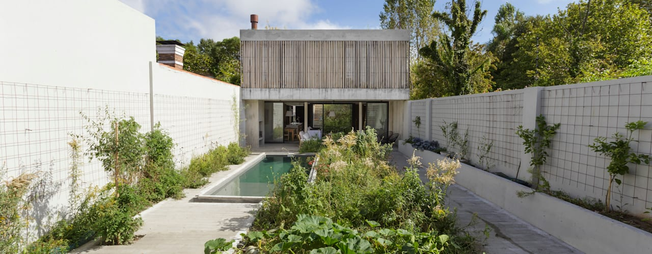 Maisons modernes par BAM! arquitectura Moderne