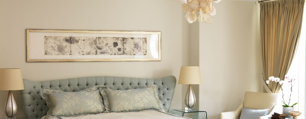 Classic Elegance:  Bedroom by Douglas Design Studio