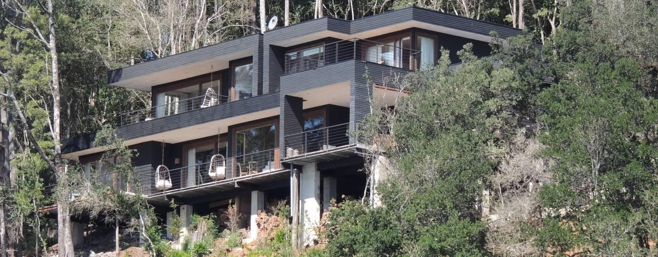 casa Balmaceda - Fontaine Casas estilo moderno: ideas, arquitectura e imágenes de David y Letelier Estudio de Arquitectura Ltda. Moderno
