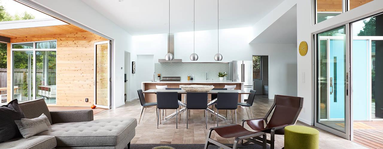 San Carlos Midcentury Modern Remodel Modern Living Room by Klopf Architecture Modern