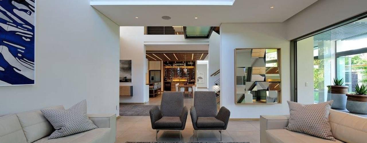 Project Stellenbosch Modern living room by Dear Zania Interiors Modern
