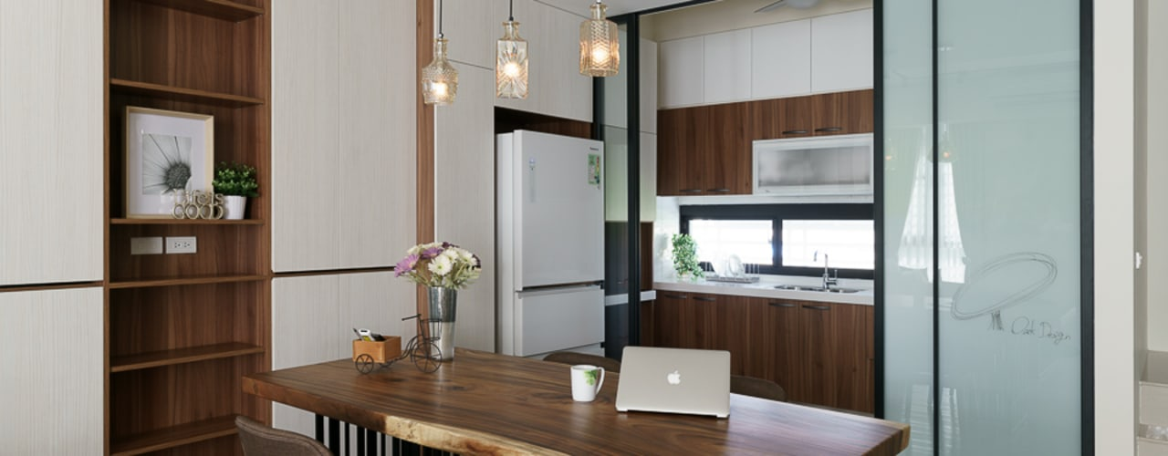 Dining room by 橡樹設計Oak Design