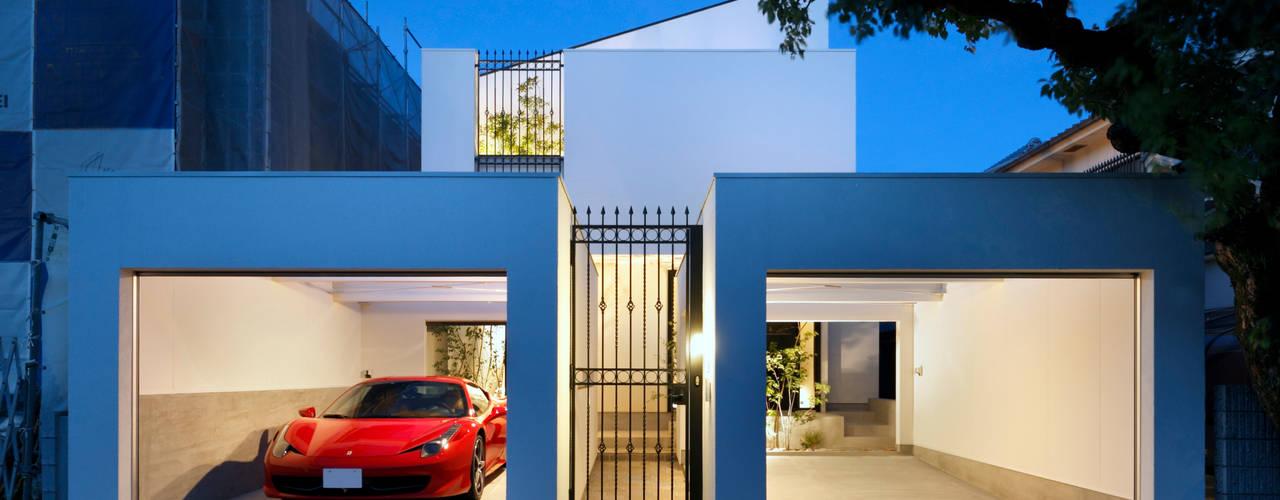Maisons modernes par 近藤晃弘建築都市設計事務所 Moderne