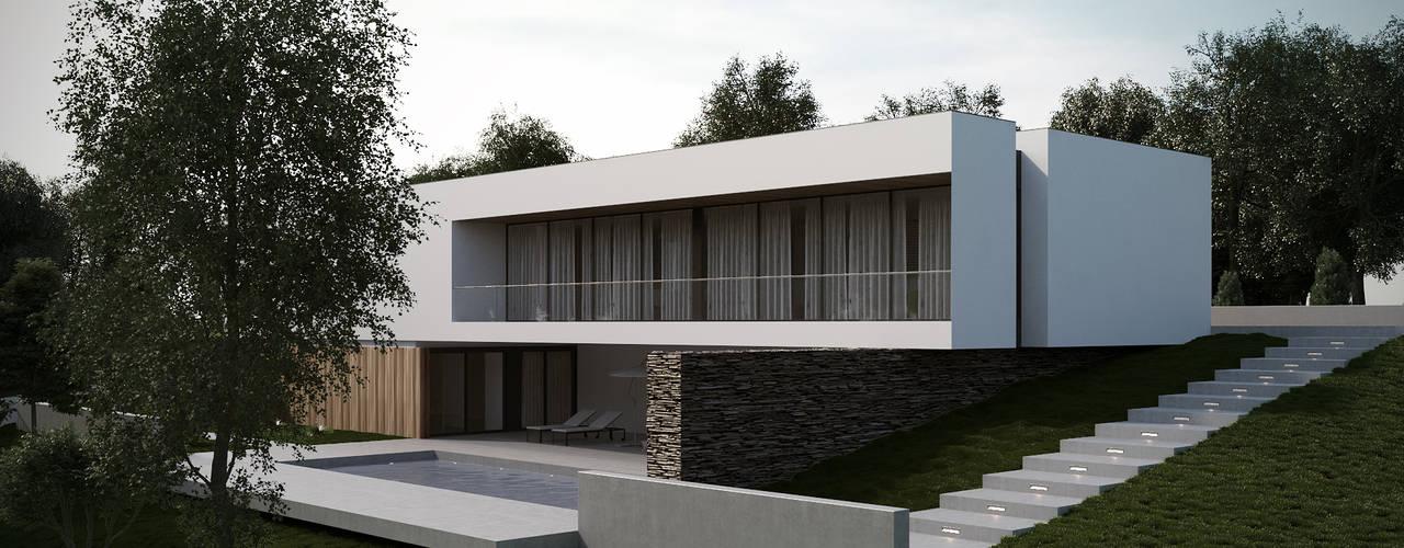 Casas de estilo  por EsboçoSigma, Lda