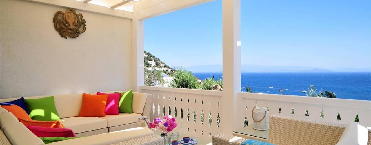 Mediterrane balkons, veranda's en terrassen van homify Mediterraan