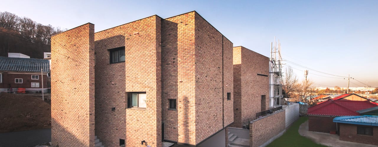 modern Houses by 디자인 인사이트 (DESIGN INSITE)