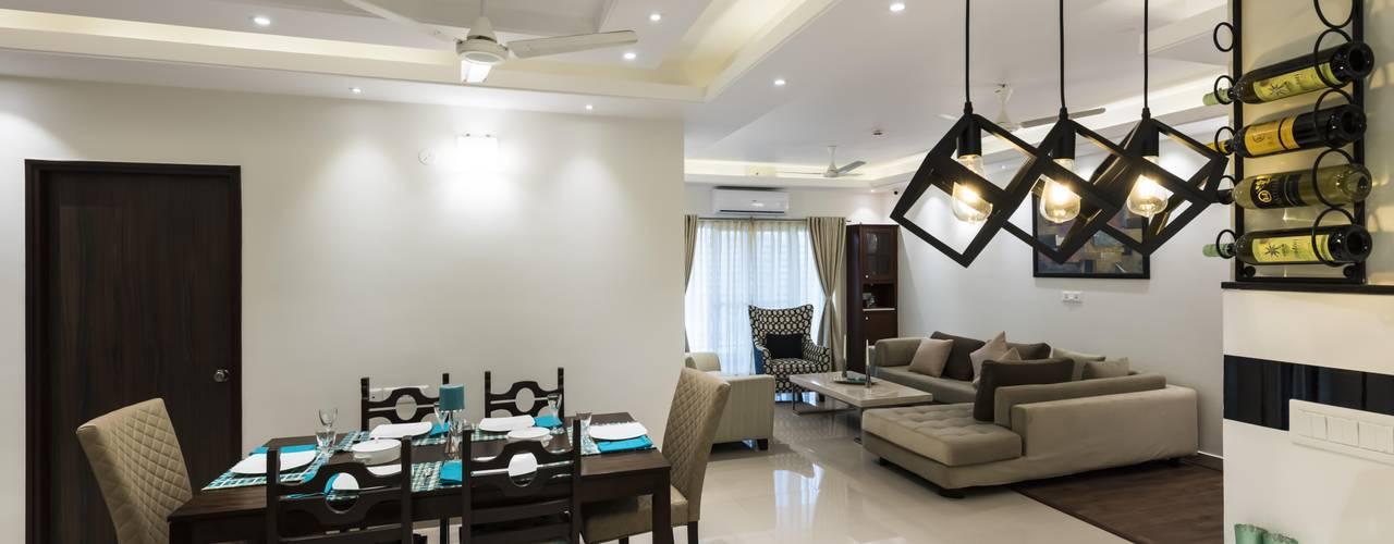 Livings modernos: Ideas, imágenes y decoración de Nandita Manwani Moderno