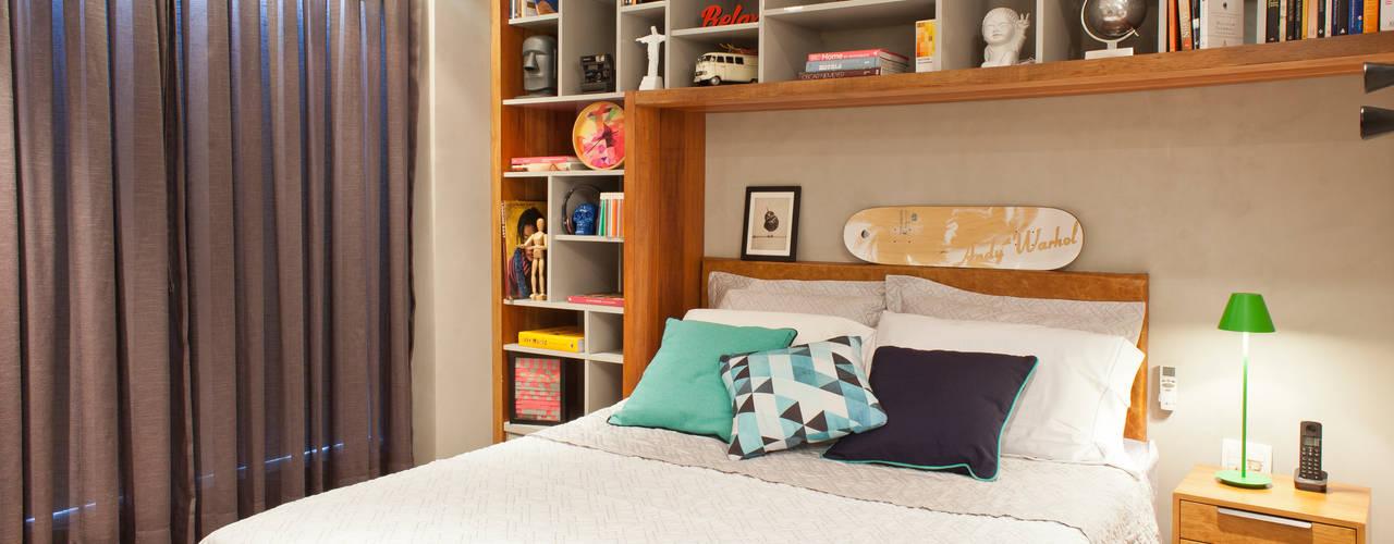 Kamar Tidur Modern Oleh PKB Arquitetura Modern