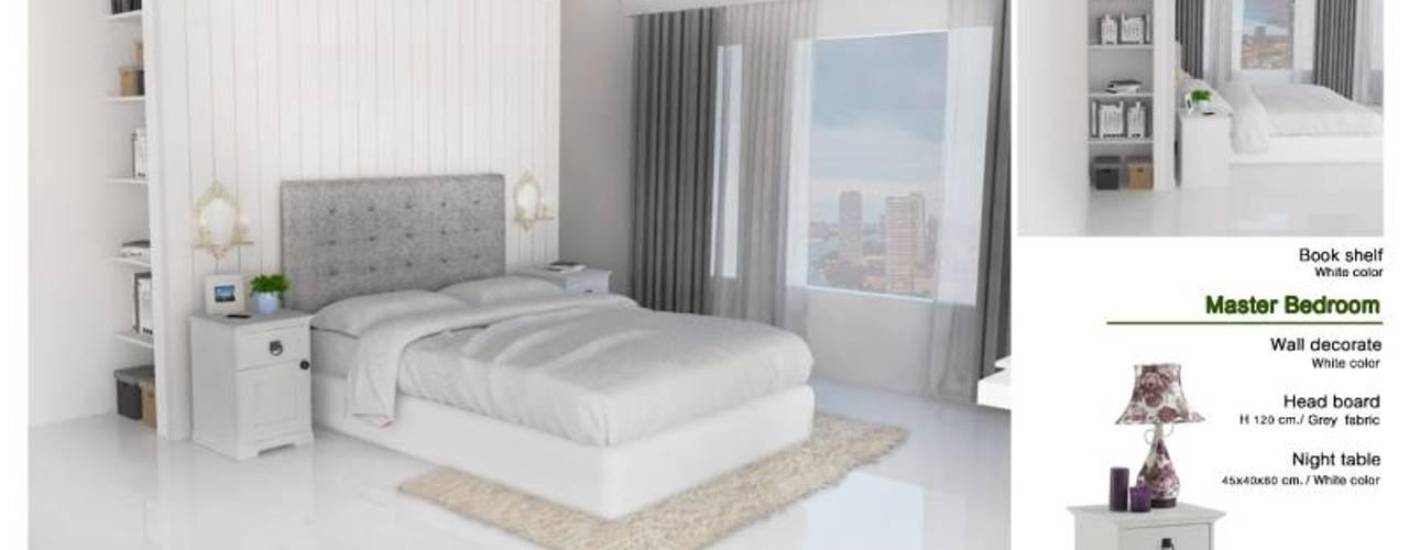 The Oleander Condo โดย Future Interior Design Co.,Ltd. ผสมผสาน