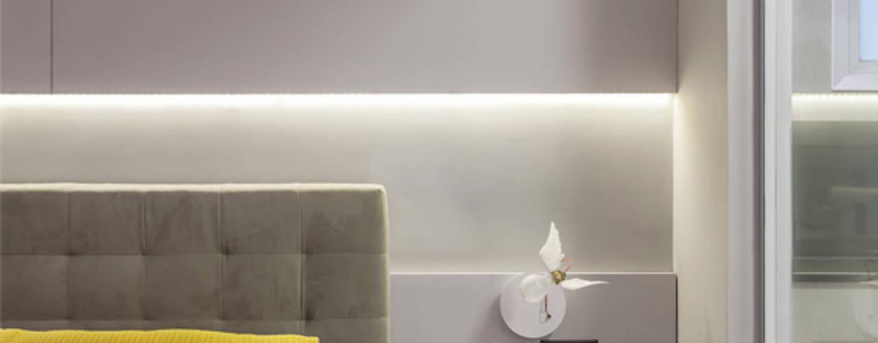 Apartamento 110 m² - Itaim Bibi Raduan Arquitetura e Interiores Quartos modernos