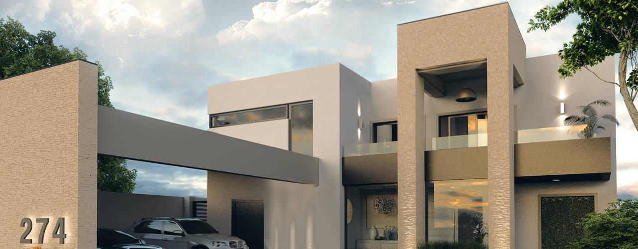 :  de estilo  por Diez y Nueve Grados Arquitectos