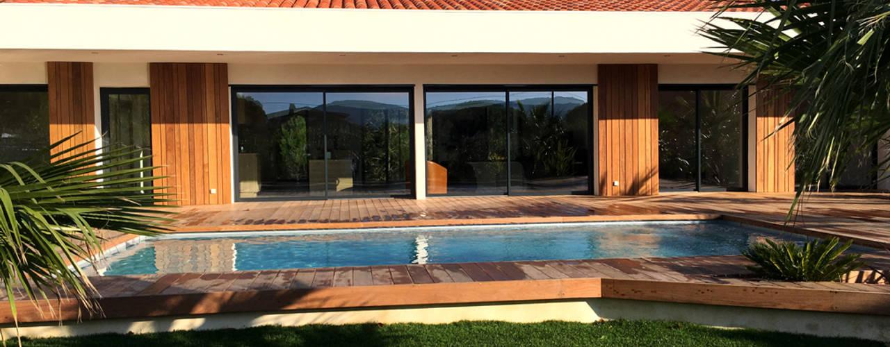 Suivez la construction d 39 une maison passive ossature bois - Maison passive en bois ...