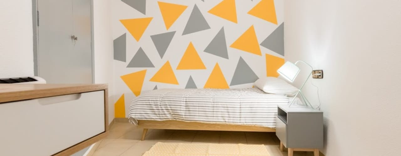 Nursery/kid's room by eM diseño de interiores, Modern