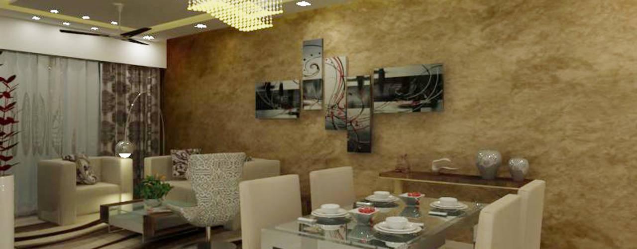 A Design Studio Living room Beige