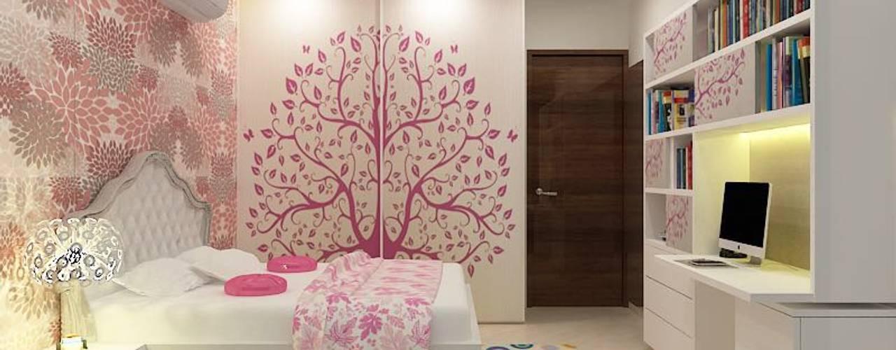 Residence at Powai A Design Studio Minimalist bedroom