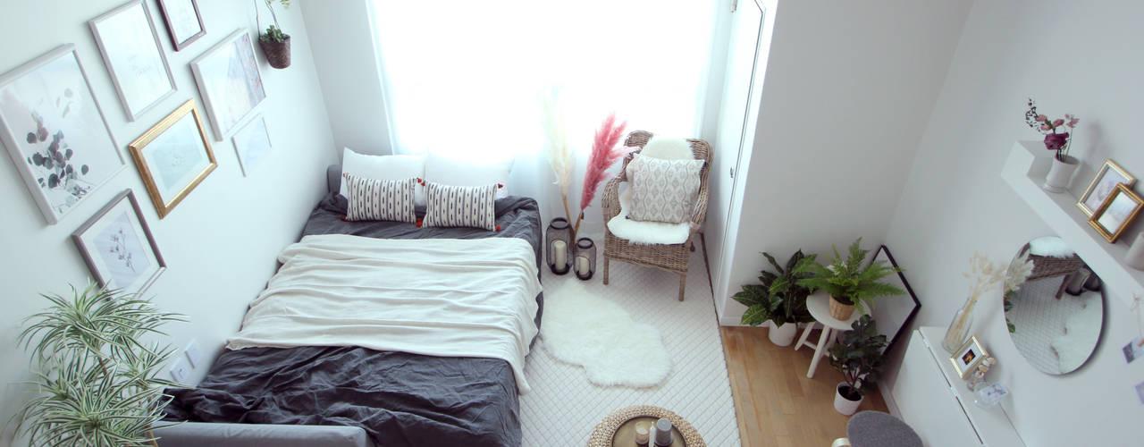 Ruang Keluarga Modern Oleh 노르딕앤 Modern