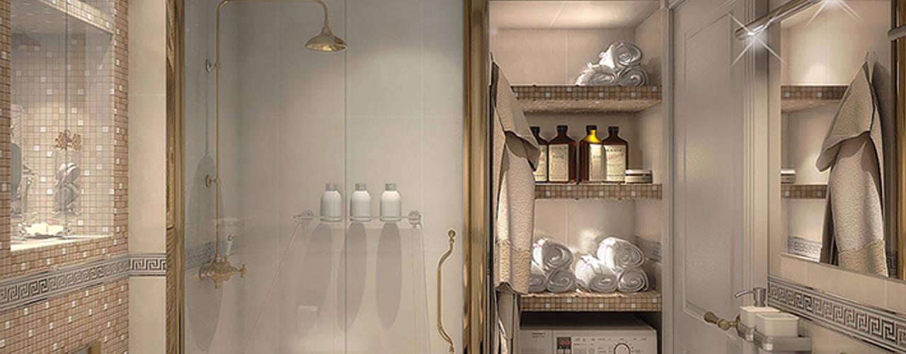 Современная классика Ванная в классическом стиле от dp_interior Классический