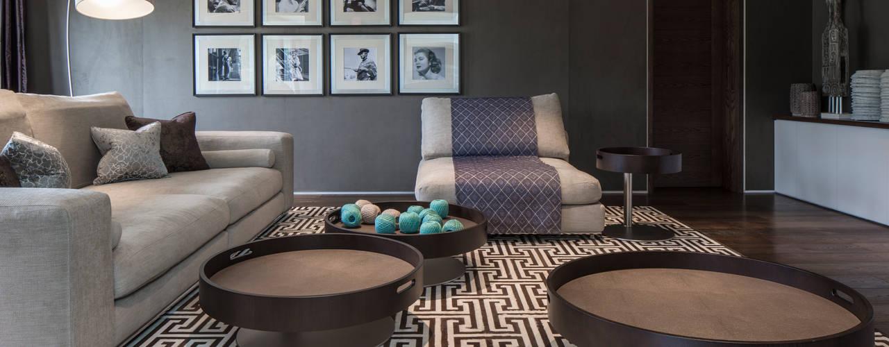 Projekty,  Pokój multimedialny zaprojektowane przez Roselind Wilson Design