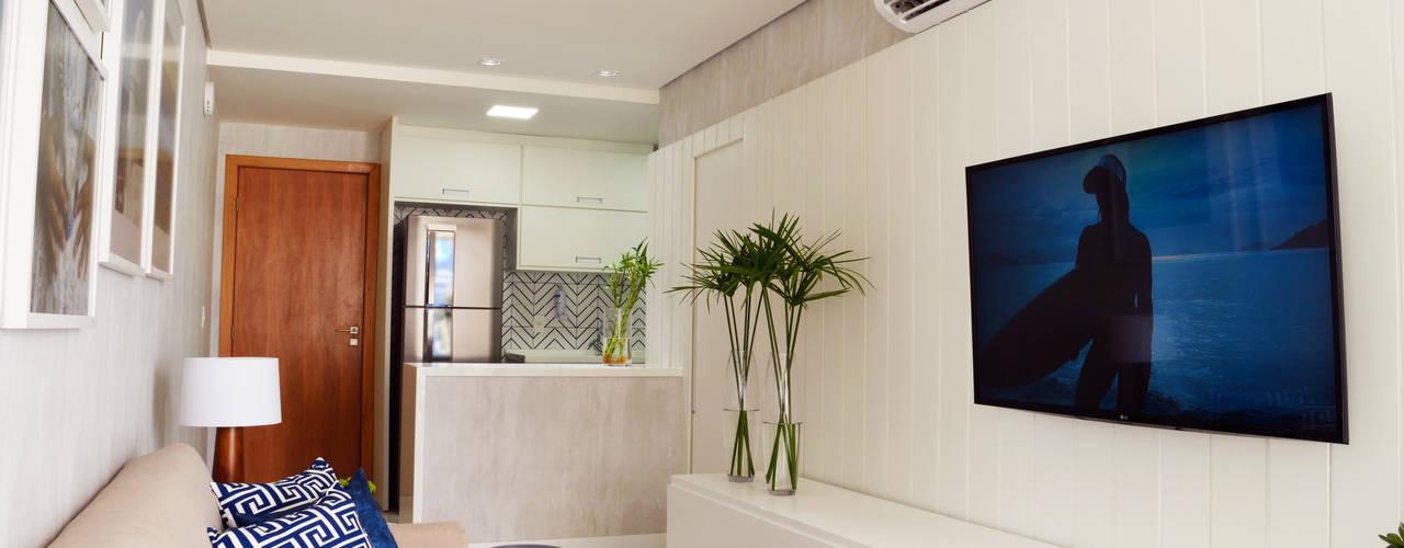 Salas de estilo moderno de Studio MAR Arquitetura e Urbanismo Moderno
