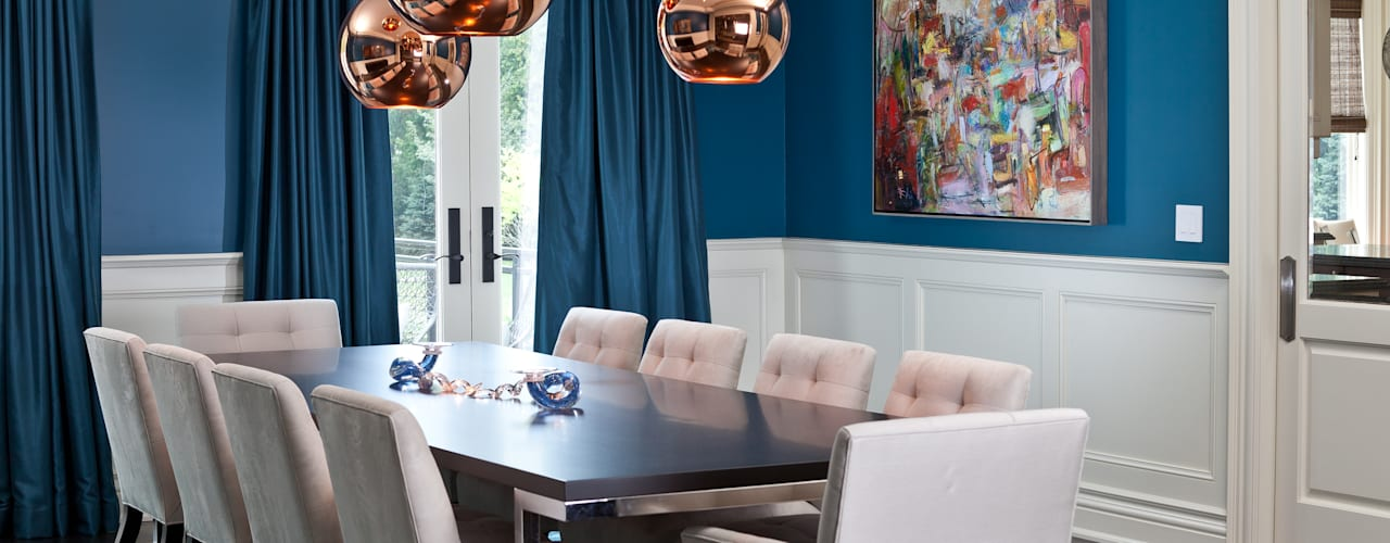 Bright Contemporary Home Modern dining room by Douglas Design Studio Modern