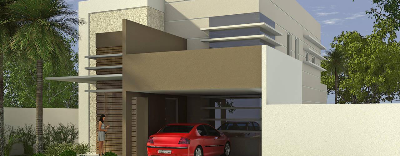 Sobrado no Condomínio Belvedere, em Cuiabá-MT Appoint Arquitetura e Engenharia