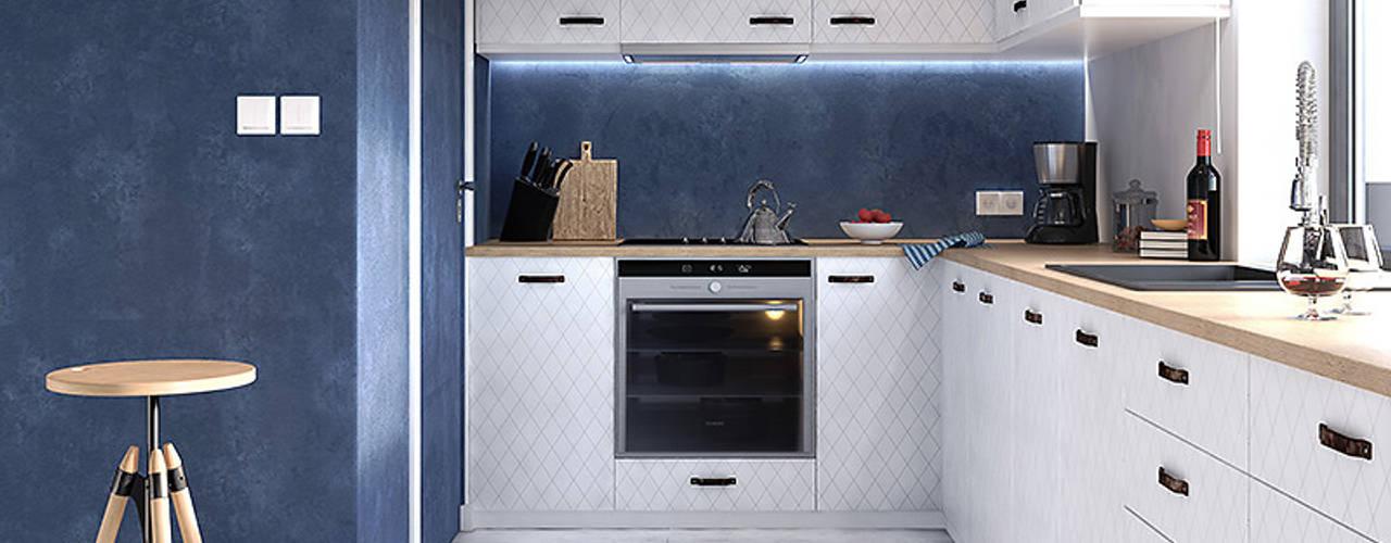 مطبخ تنفيذ Biuro Projektów MTM Styl - domywstylu.pl