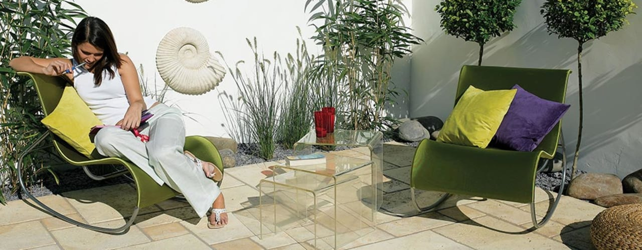 Around the pool: what to choose Fabistone Pareti & Pavimenti in stile moderno